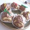Recette Bûchettes de Noël (Dessert - Gastronomique)