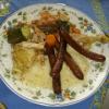 Recette Couscous au Poulet (Plat complet - Cuisine familiale)