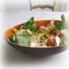 Salade Endive, Surimi, Tomates, Cerises
