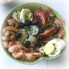 Salade de Tomates aux Crevettes
