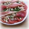 Salade de Tomates à la Fourme de Montbrison