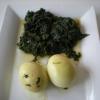 Recette Epinards aux Oeufs Durs (Plat complet - Cuisine allégée)