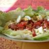 Recette Salade de Tomates Oeufs Laitue (Plat complet - Cuisine allégée)