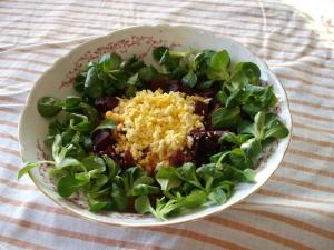 Salade de Mâche, Betteraves, Oeufs Mimosas - image 4