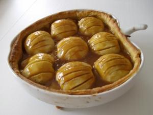 Crème Caramel au Beurre Salé et Pommes Fondantes - image 1