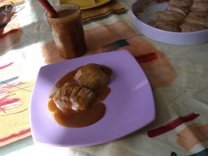 Crème Caramel au Beurre Salé et Pommes Fondantes - image 2