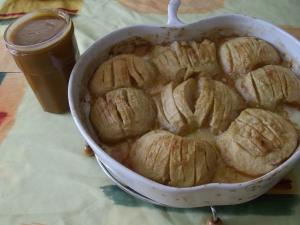 Crème Caramel au Beurre Salé et Pommes Fondantes - image 3