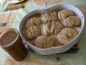 Crème Caramel au Beurre Salé et Pommes Fondantes - image 4