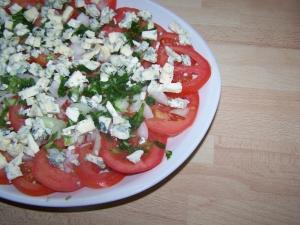 Salade de Tomates à la Fourme de Montbrison - image 2