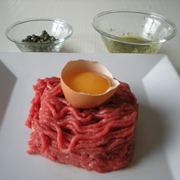 steak tartare plat principal recettes online. Black Bedroom Furniture Sets. Home Design Ideas