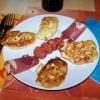 Recette Galettes de Pommes de terre (Plat complet - Régional)