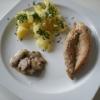 Recette Blanc de Poulet aux Pommes de Terre et aux Champignons (Plat complet - Cuisine allégée)