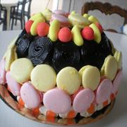 Macarons aux Bonbons (Fraises Tagada et Bananes)