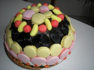 Macarons aux Bonbons (Fraises Tagada et Bananes) - image 5