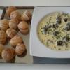Recette Velouté d'Escargots au vin de Savoie (Accompagnement - Gastronomique)