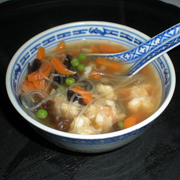 soupe chinoise aux crevettes accompagnement recettes online. Black Bedroom Furniture Sets. Home Design Ideas