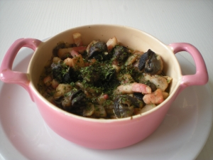 Cassolettes d 39 escargots entr e recettes online for Entree sympa entre amis