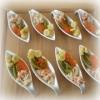 Petites Cuillères au Crabe, Oeufs de Truite...