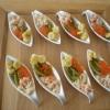 Recette Petites Cuillères au Crabe, Oeufs de Truite... (Apéritif - Entre amis)