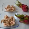 Recette Crevettes au Fruit du Dragon (Pitaya) (Entrée - Gastronomique)