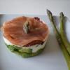 Recette Avocat, Mascarpone, Tomate, Saumon (Entrée - Gastronomique)