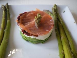 Avocat, Mascarpone, Tomate, Saumon - image 1