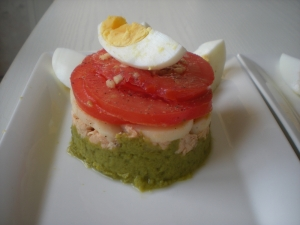 Asperges, Saumon, Coeurs de Palmier, Tomates, Oeufs - image 2