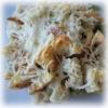 Recette Crumble d'Asperges  Vertes aux Crevettes et Sassenage (Plat complet - Régional)