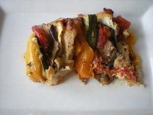 Tian au poulet plat complet recettes online for Plat entre amis rapide