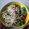 Recette Salade de Tourteau, Soja, Mâche (Entrée - Gastronomique)