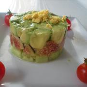 Avocat, Figues, Concombre