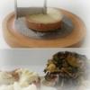 Recette Côtes de Porc, Rosaces de Tête de Moine, Courgettes (Plat complet - Entre amis)
