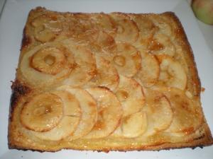 Carré Feuilleté aux Pommes et Amandes - image 1