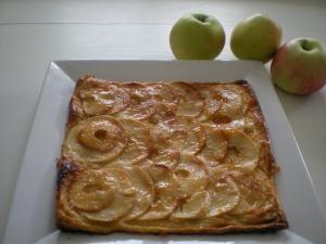 Carré Feuilleté aux Pommes et Amandes - image 2