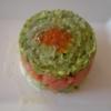 Recette Concombre, Saumon Fumé, Avocats, Oeufs de Saumon (Entrée - Gastronomique)