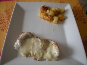 Filets de Porc aux Pommes de Terre Sautées et Chevrotin - image 1