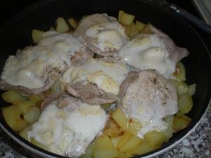 Filets de Porc aux Pommes de Terre Sautées et Chevrotin - image 4