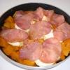 Recette Courge Butternut au Saint Marcellin et Bacon (Plat complet - Régional)