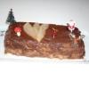 Recette Bûche Poires et Mousse au Chocolat (Dessert - Cuisine familiale)