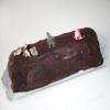 Recette Bûche aux Marrons et Chocolat Noir (Noël 2009) (Dessert - Cuisine familiale)