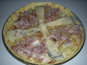 Tarte au Chou, Lardons, Morbier - image 2
