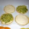 Recette Tartelettes au Chocolat Blanc et Kiwis (Dessert - Entre amis)