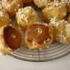 Recette Chouquettes garnies de Crème Pâtissière (Dessert - Entre amis)
