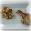 Recette Côtes de Porc sous lit de Pommes de Terre Moelleuses et Croustillantes (Entrée - Cuisine familiale)