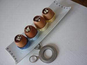 Oeufs coque au chocolat - image 1