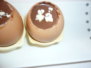 Oeufs coque au chocolat - image 2