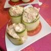 Recette Courgettes Roulées au Thon (Entrée - Cuisine familiale)