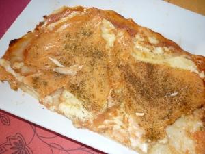 Pizza au saumon fum entr e recettes online for Entree sympa entre amis