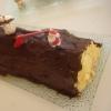 Recette Bûche Glacée à la Mousse de Marrons (Dessert - Gastronomique)