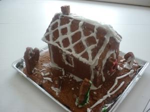 Maison en Pain d'Epices au Chocolat - image 1
